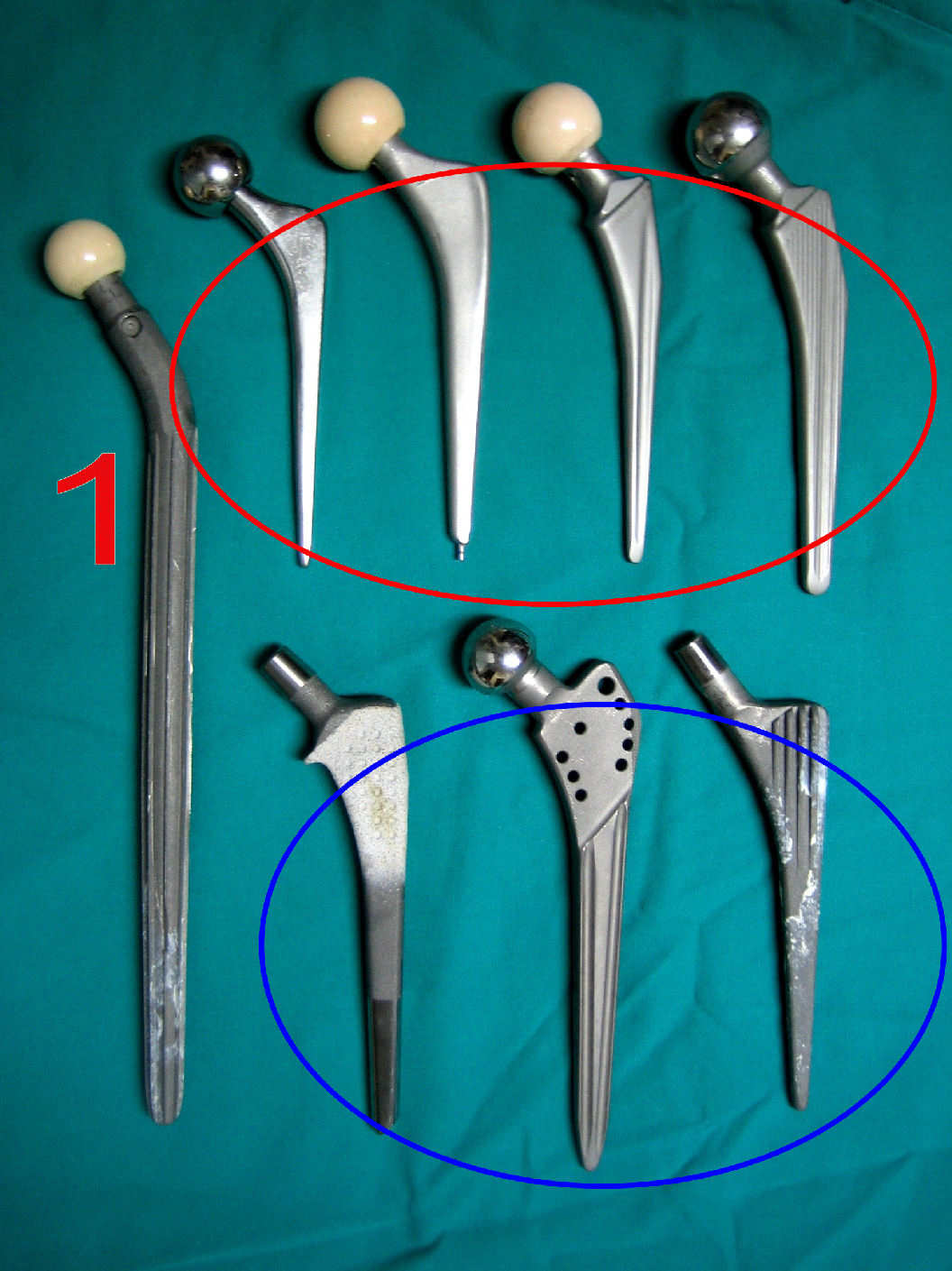 Protesis parcial de cadera